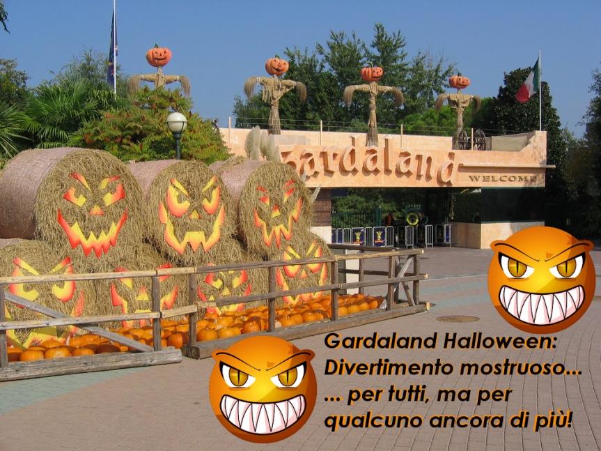 """Foto originale """"Gardaland Magic Halloween 2009"""" by occhietto - flickr - rielaborazione grafica unpodimondo.wordpress.com"""