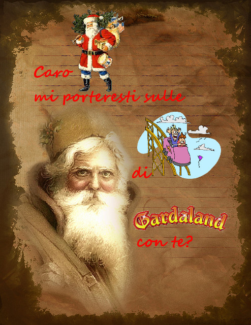 "Foto Originale ""Vintage Old World Santa Claus Stationary"" by Beverly & Pack - flickr - rielaborazione grafica by unpodimondo.wordpress.com"