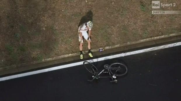 """""""Rigoberto Uran al Mondiale di Firenze 2013"""" - Foto trovata su Internet"""