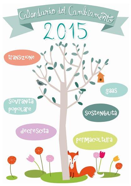 """Foto Copertina """"Calendario del cambiamento 2015"""""""