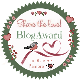 Share the love Blog award - by Rebecca Antolini