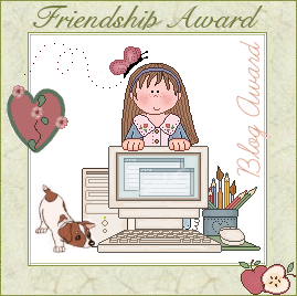 Friendship award - by Rebecca Antolini