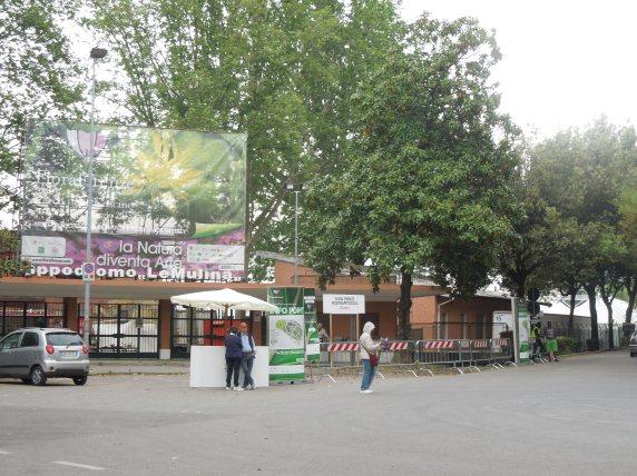 L'ingresso della Mostra - Flora Firenze ha fatto Flop! by unpodimondo