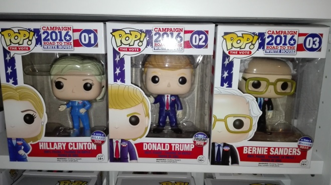 "Foto ""Campaign 2016 Funko Pop!"" by Unpodimondo"